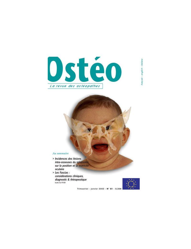Ostéo N° 61