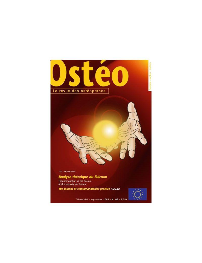 Ostéo N° 63