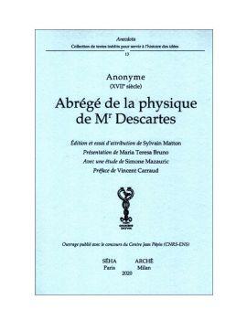 Abrégé de la Physique de Mr. Descartes