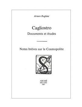 Cagliostro, documents et...