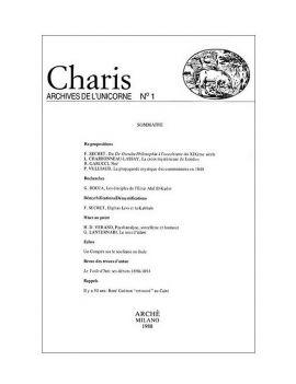 Charis - Archives de...