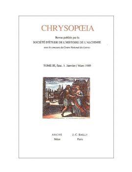 Chrysopoeia III - 1989