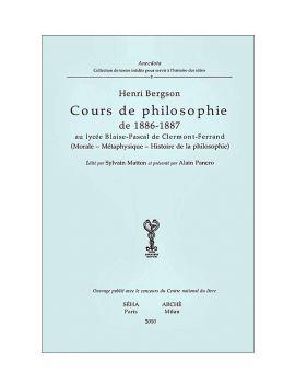 Cours de philosophie de...