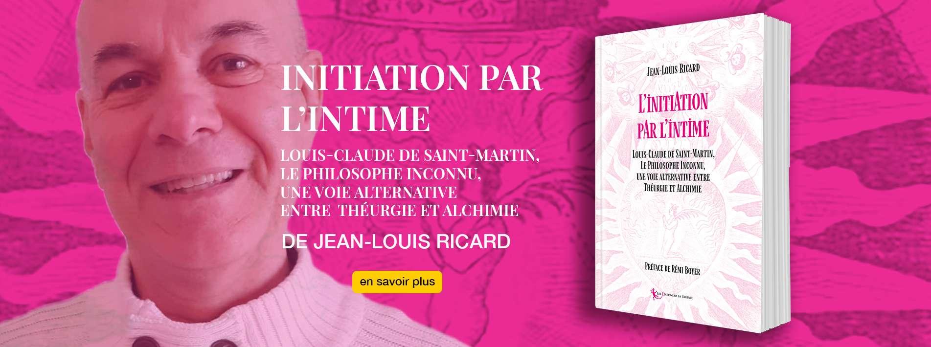 Initiation par l'intime de Jean-Louis Ricard